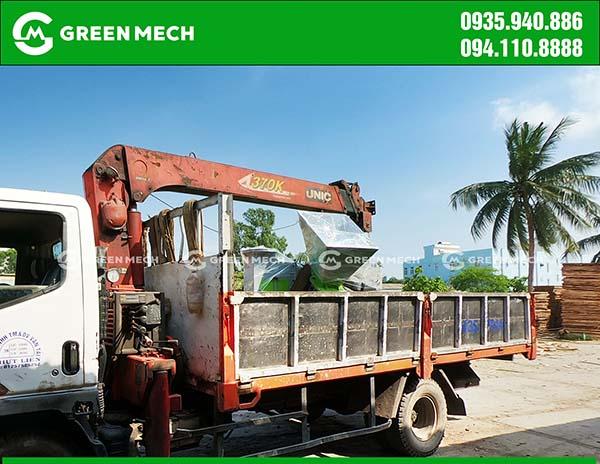Cung cấp máy băm gỗ 3 Tấn Tại Đà Nẵng