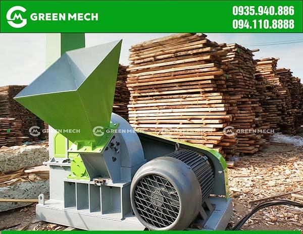 Máy băm gỗ 3 tấn