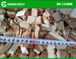 Dăm gỗ băm từ máy băm gỗ 3 Tấn GREEN MECH