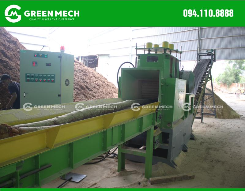 Lắp đặt máy nghiền gỗ thành mùn cưa tại Quảng Ngãi