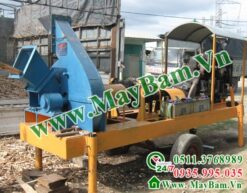 Máy băm gỗ 1 tấn