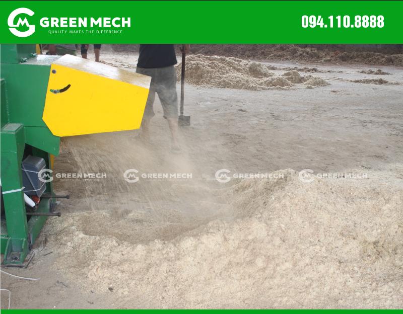 Máy nghiền mùn cưa GM-200SM tại Quảng Ninh