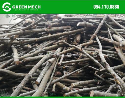 Nguyên liệu máy nghiền gỗ thành mùn cưa 1 Tấn